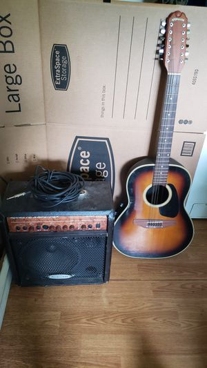guitar and amp for Sale in Norfolk, VA