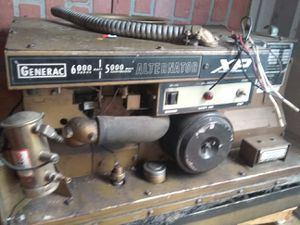 Generac 5000 continuous alternator generator out of a motorhome work when removed best offer for Sale in Portland, OR