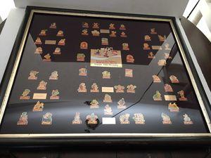 Coca-Cola salutes Walt Disney Happy 15th Birthday Collector pins framed for Sale in Las Vegas, NV