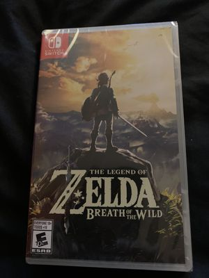 Zelda Breath of the Wild NEW NINTENDO SWITCH for Sale in Silver Spring, MD