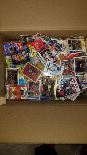 Sports cards- huge basketball cards , football cards , baseball cards around 20lbs, packs unopened. Lot # 010 for Sale in Roseburg, OR