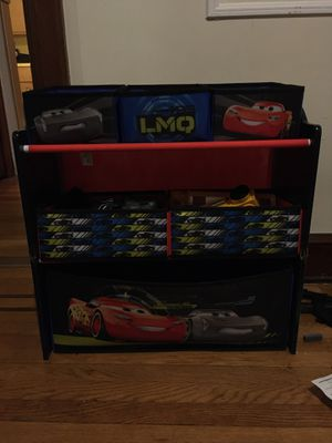 Kids CARS toy bin - MOVING SALE - Must go by 12/15 for Sale in North Bergen, NJ