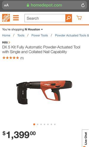 Hilti nail gun for Sale in Humble, TX