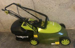 Sunjoe mower, like new for Sale in Collinsville, IL