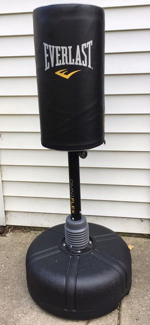 Everlast OmniFlex punching bag/stand for Sale in HOFFMAN EST, IL