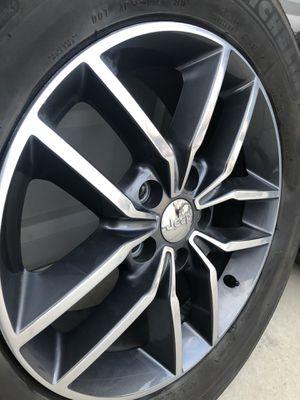 18 inch 2017 Jeep Grand Cherokee Wheels & Tires for Sale in West Jordan, UT