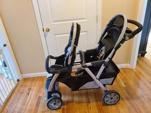 Chicco Cortina Together Double Stroller for Sale in Seaford, NY