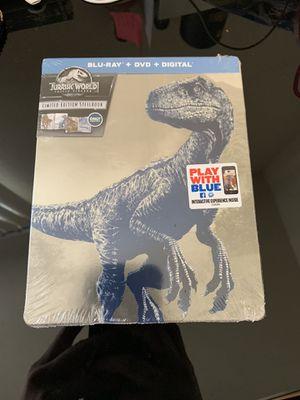 Jurassic World: Fallen Kingdom (BluRay + DVD + Digital) [Steelbook] for Sale in Los Angeles, CA