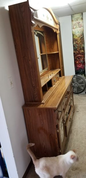 Heavy duty wood furniture/vanity. for Sale in Eau Claire, WI