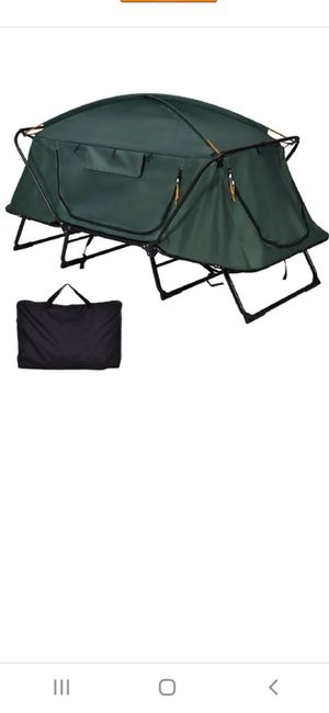 Folding Waterproof 1 Person Camping Tent w/ Carrying Bag for Sale in Bakersfield, CA