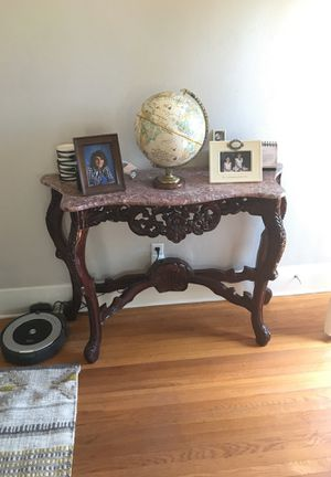 Toscanini Baroque Marble Top Console Table (paid $800 new) for Sale in San Diego, CA