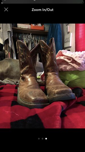 Justin boots for Sale in Woodinville, WA