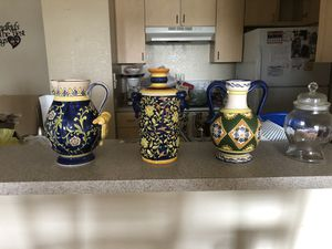 Beautiful 80s midwestern jars for Sale in Tampa, FL