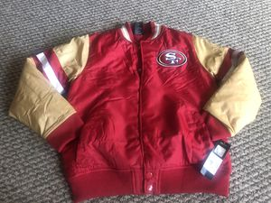 Youth Kids 49ers Jacket Size Medium 10-12 for Sale in San Jose, CA