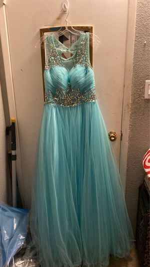 Aquamarine Quinceanera/Prom Dress for Sale in Union City, CA