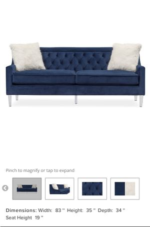 Like new blue couch for Sale in Grayson, GA