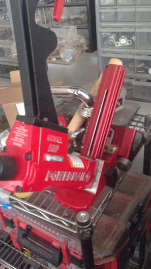 Hardwood cleat nailgun on rollers for Sale in Westborough, MA