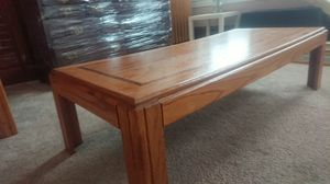 Oak Coffee Table and Side Table Set for Sale in ARSENAL, PA