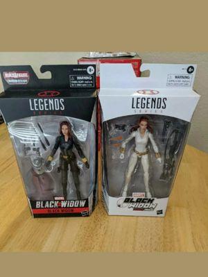 Marvel Legends Black Widow with Crimson Dynamo Build a Figure Piece & Exclusive Black Widow Collectible Action Figure Toys ( Read Description Below ) for Sale in Chicago, IL