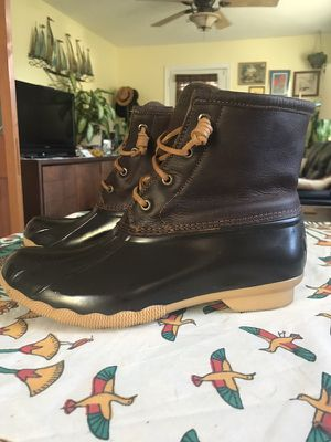 Women's 9.5 Sperry boots! for Sale in Raleigh, NC