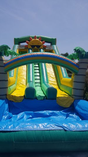 Water slide jumpers tables chairs canopies patio heaters and more low prices FREE DELIVERY for Sale in Pomona, CA