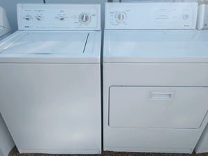 """""""KENMORE"""" MATCHING SET WASHER AND ELECTRIC DRYER SUPER CAPACITY PLUS for Sale in Phoenix, AZ"""