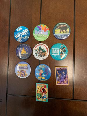 Disney - Button/Pins - Bag #10 for Sale in Davenport, FL