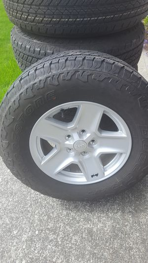 5 Bridgestone Tires and wheels for Sale in Puyallup, WA