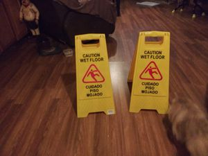 Wet floor sign for Sale in Neenah, WI