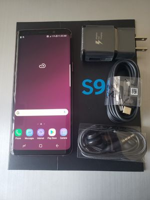 Samsung Galaxy S9 , Unlocked for All Company Carrier, Excellent Condition like New . for Sale in Springfield, VA